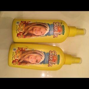 Sun In hair ligthner bundle two bottles